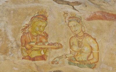 De smukke Apsaras fra Lion Rock